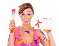 Maler Stockbild