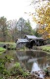 Maler drivande mäld för Mabry vatten Virginia Royaltyfri Bild