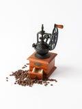 Maler manuellt kaffe för tappning Fotografering för Bildbyråer