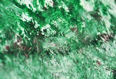 Malerei-Aquarellhintergrund des grünen Rosas silberner purpurroter weißer unscharfer, Aquarellacryl, das abstrakten Hintergrund m lizenzfreies stockbild