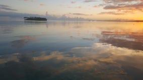 Malerei auf dem Wasser Lizenzfreie Stockfotos