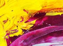 Malerei auf Papierhintergrundzusammenfassungsbeschaffenheit Lizenzfreie Stockbilder