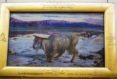 Malerei in Dame Lever Art Gallery des Portsonnenlichts, hergestellt von William Hesketh Lever für seine SonnenlichtSeifenfabrikar lizenzfreie stockfotografie