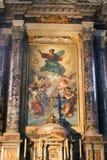 Malerei an der Basilika von Rom Lizenzfreies Stockbild