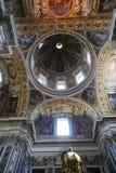 Malerei an der Basilika von Rom Lizenzfreie Stockfotografie