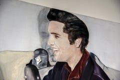Malerei Elvis 3 Generationen durch Jacqueline De Jong At The Stedelijk-Museum in Amsterdam die Niederlande 2019 stockfoto