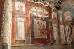 Malerei in Herculaneum Lizenzfreie Stockfotos
