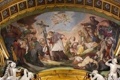 Malerei innerhalb der Basilika des Heiligen Mary Major Lizenzfreie Stockfotografie