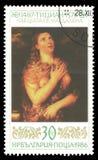 Malerei Magdalena von Titian Lizenzfreie Stockfotos
