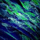 Malerei vom Öl auf einem rauen Segeltuch, Illustration, Hintergrund Lizenzfreie Stockfotos