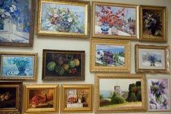 Malerei vom Mezhyhya Ukraine Lizenzfreie Stockbilder