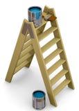 Malerei-Werkzeug - 3D Lizenzfreie Stockfotografie