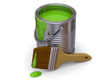 Malerei-Werkzeug - 3D Stockfotos