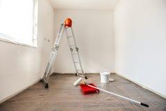 Malerei-Werkzeuge Stockfotos