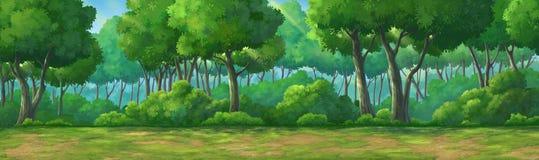 Malereiansicht forset tagsüber Lizenzfreies Stockbild