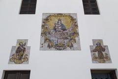 Malereien auf dem Kirchen-La Puritate in Gallipoli (Le) Stockfotografie