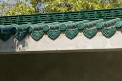 Malereigebäude und Möbel China Stockfotos
