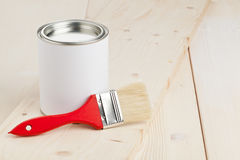Malereivorbereitung stockbilder