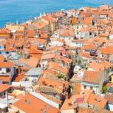 Malerische alte Stadt Piran, Slowenien Lizenzfreies Stockfoto