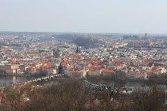 Malerische Ansicht von Prag Stockbild