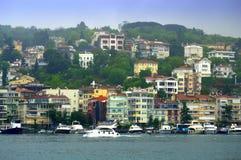 Malerische Bosphorus-Küste Lizenzfreies Stockfoto