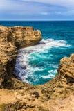 Malerische Bucht von Australien Stockfotos