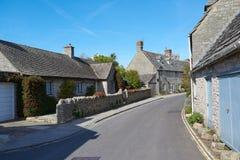 Malerische englische Dorf-Szene Lizenzfreie Stockbilder