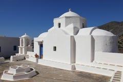 Malerische Kapelle auf der Insel von Karpathos Stockfotos