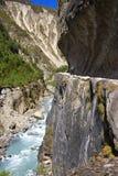 Malerische nepalesische Landschaft Lizenzfreies Stockbild