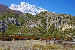 Malerische nepalesische Landschaft Lizenzfreie Stockbilder