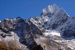 Malerische nepalesische Landschaft Stockfotos