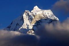 Malerische nepalesische Landschaft Stockbilder