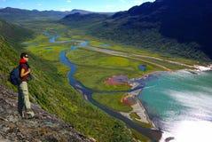 Malerische Norwegen-Gebirgslandschaft lizenzfreie stockbilder