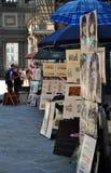 Malerische Porträts in Florenz, Italien stockbilder