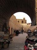 Malerische und schöne Straßen von Essaouira in Marokko lizenzfreie stockfotos