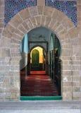 Malerische und schöne Straßen von Essaouira in Marokko lizenzfreies stockbild