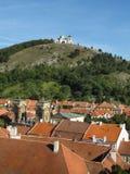 Malerischer heiliger Hügel Stockfoto