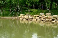 Malerischer See Lizenzfreies Stockbild