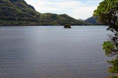 Malerischer See in Nationalpark Killarneys lizenzfreie stockfotos