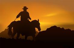 Malerischer Sonnenuntergang Lizenzfreies Stockfoto