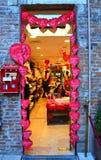 Malerischer Souvenirladen in Verona Stockbild
