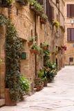 Malerischer Winkel von Toskana stockbilder