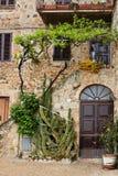 Malerischer Winkel von Toskana stockfotos