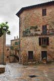 Malerischer Winkel von Toskana lizenzfreies stockbild
