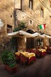 Malerischer Winkel von Toskana stockbild
