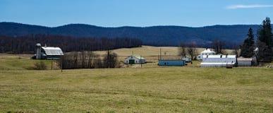 """Malerisches Bauernhof †""""unterdrückt Garten, Virginia, USA Stockfotografie"""