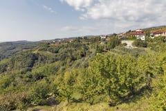 Malerisches Dorf Smartno in West-Slowenien Lizenzfreie Stockfotografie