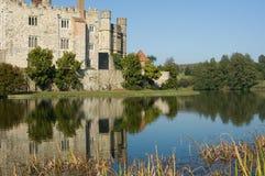Malerisches englisches Schloss Lizenzfreies Stockbild