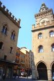 Malerisches Gebäude Bologna Italien Lizenzfreies Stockfoto