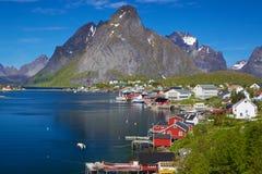 Malerisches Norwegen stockfotografie
